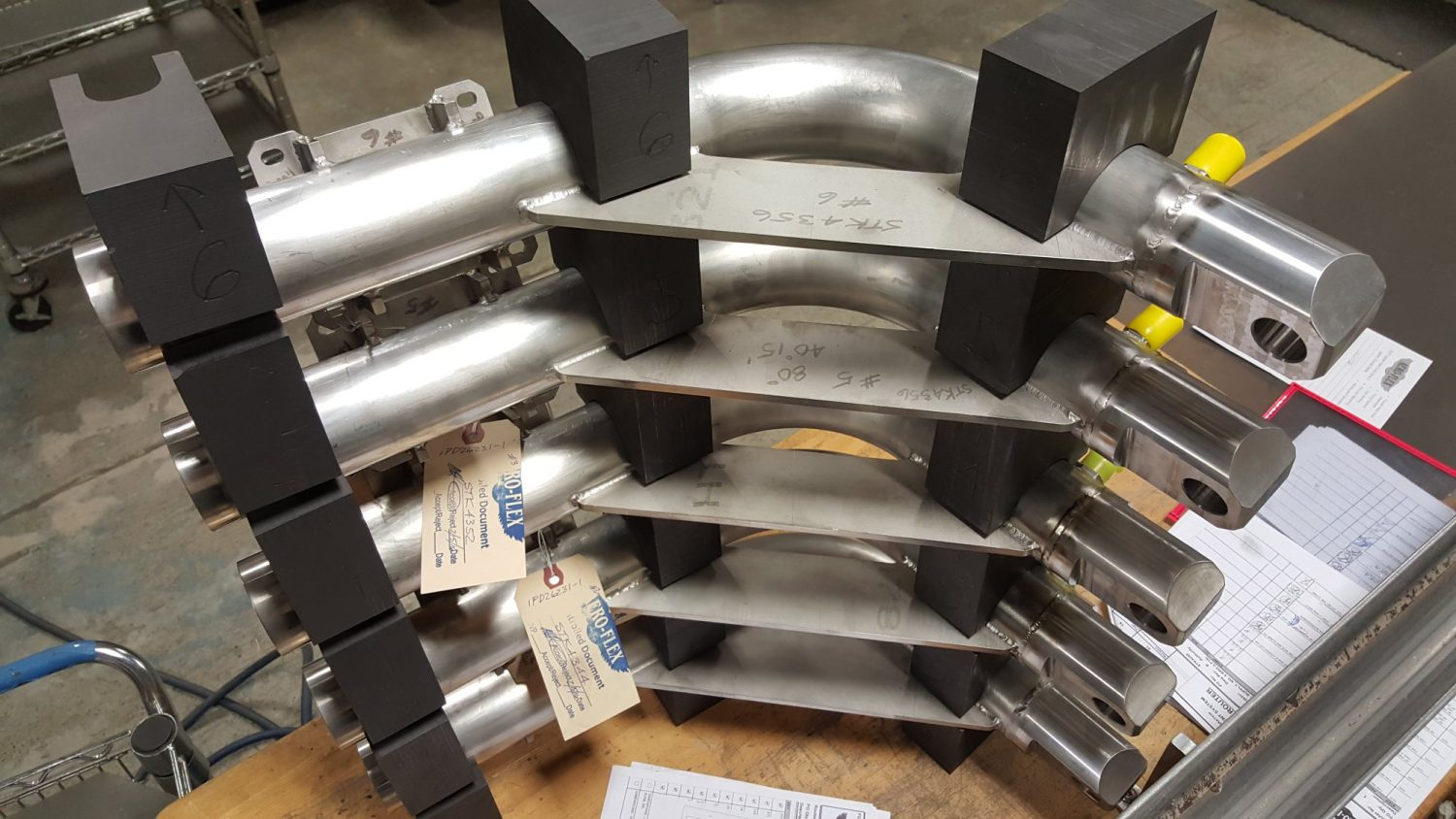 gas turbine tube assembly