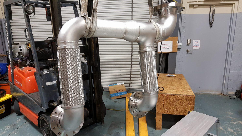 Gas Turbine Metal Hose